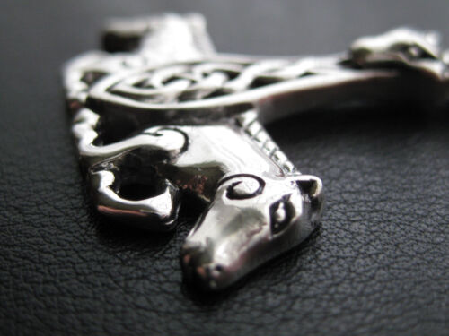 KA 188 Thor s Hammer 925/'er Silber Ketten Anhänger Wikinger Pferd