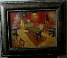 CAFE WITH POOL TABLE ART POSTER 24x36-52929 VAN GOGH