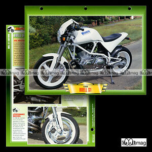 401-10-Fiche-Moto-BUELL-1200-S1-LIGHTNING-039-99-Motorcycle-Card