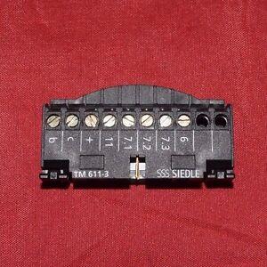 Siedle Klemmblock für TM 611-3 Tastenmodul Einbau  TM 611-03 60