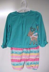 faa43521b Carter s Just One You - Holiday Christmas Reindeer 2-Piece Pajama ...