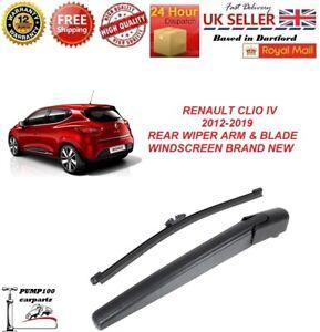 RENAULT-CLIO-IV-MK4-2012-2019-REAR-WIPER-ARM-amp-BLADE-WINDSCREEN-BRAND-NEW-250MM