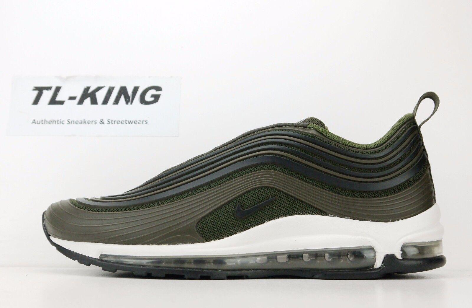 Nike Air Max 97 Ultra '17 Premium Cargo Khaki Black AH7581-300 Msrp  180 CC