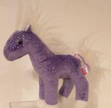 DOUGLAS CO INC - Cuddle Toys Purple Pony Plush Animal - 7 inches