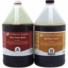 Pour Foam 2 LB Density - Liquid Urethane Insulation Marine Grade - 2 Gallon Kit