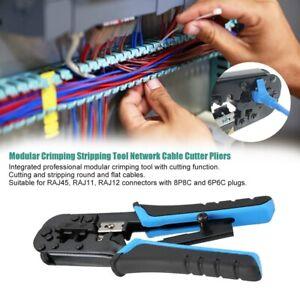 Pinze-Modulari-a-Crimpare-Pinze-Per-Taglia-Cavi-Di-Rete-Per-RJ45-RJ12-RJ11-Kit