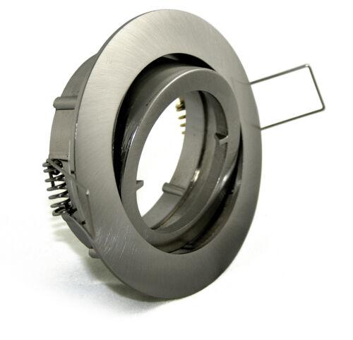 Deckenstrahler Alu-Guß vielseitiger Einsatz z.B Vordach IP20 Bajo 230V GU10