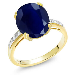 5-04-Ct-Oval-Blue-Sapphire-White-Diamond-10K-Yellow-Gold-Ring