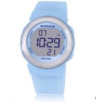 Xonix Women Sports Watch Digital Led Lighting WR100M Girl Swim Dress Watch
