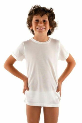 Dermasilk Child Short Sleeve Top T-Shirt 3-12 Years Dry Sensitive Skin Eczema
