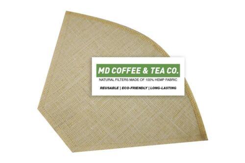 Hemp Coffee Filter 6, Reusable Coffee Filter, Saves Money, Taste Better &...