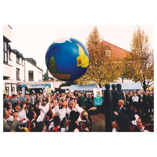 aufblasbarer Globus Kinder Weltkugel TOGU Erdball mit Schablonierung