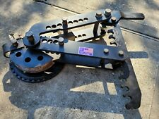 Pro Tools Pipe Bender With 1 12 Od X 45 90 Deg Round Tube Die