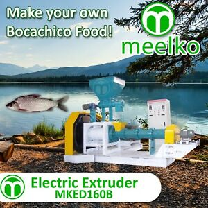 ELECTRIC-EXTRUDER-TO-MAKE-YOUR-OWN-TILAPIA-FISH-FOOD-MKED160B-FREE-SHIPPING
