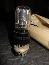 Vintage Visseaux 6K6GT vacuum tubes - NOS NIB Made in France