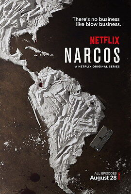 """3860 Hot Movie TV Shows - Narcos 24""""x36"""" Poster"""