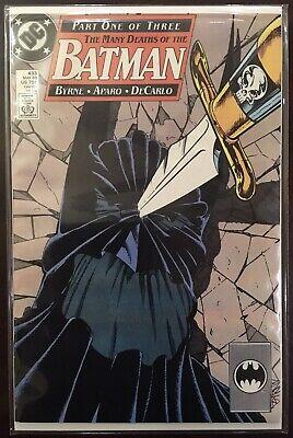 BATMAN   # 433 COMIC 1989-9.2