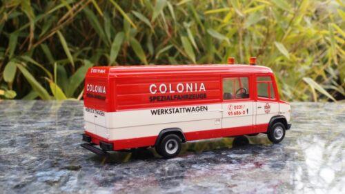 "Herpa  Mercedes-Benz Vario Langkasten /""Colonia/"""