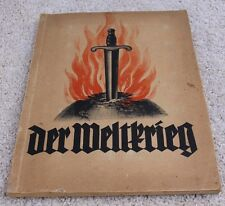 Der Weltkrieg  Sammelbilderalbum Immalin-Werke Mettmann von 1933 KOMPLETT
