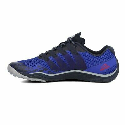 Merrell Mens Move Glove Trail Running Shoes Trainers Sneakers Navy Blue Sports
