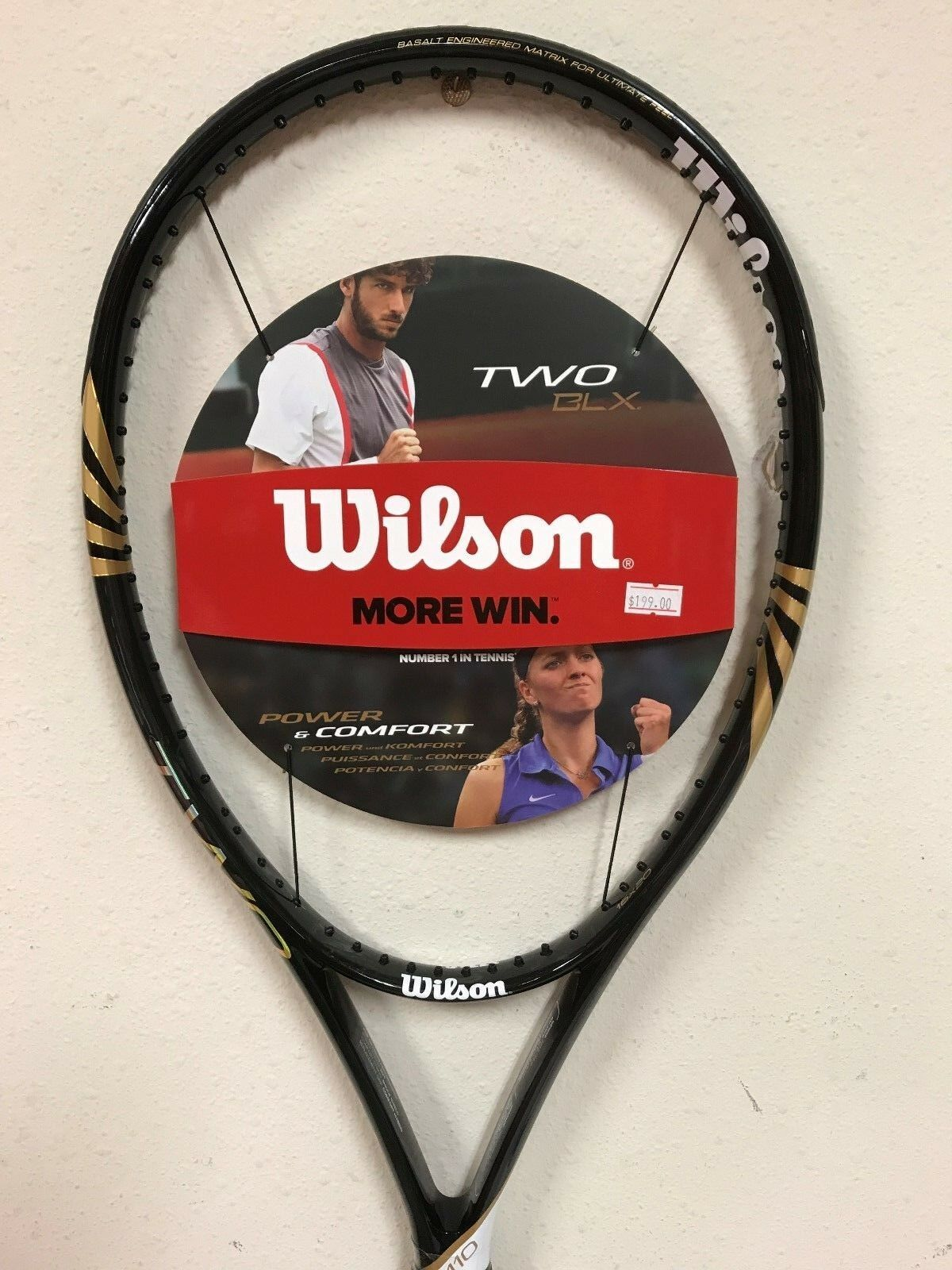 Wilson Two BLX Tennis Racquet Grip Size 4 1 4