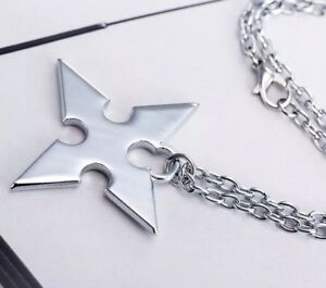 Kingdom hearts roxas necklace silver disney 50cm us seller ebay image is loading kingdom hearts roxas necklace silver disney 50cm us aloadofball Gallery