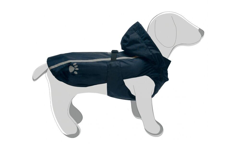 Impermeabile cappottino cappottino cappottino per cani leggero sfoderato cappuccio staccabile k-way 54201b