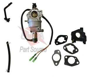 Auto Express PPG6000 OHV13H 6000W with Manual Choke Fits Poulan Pro Generator Carburetor