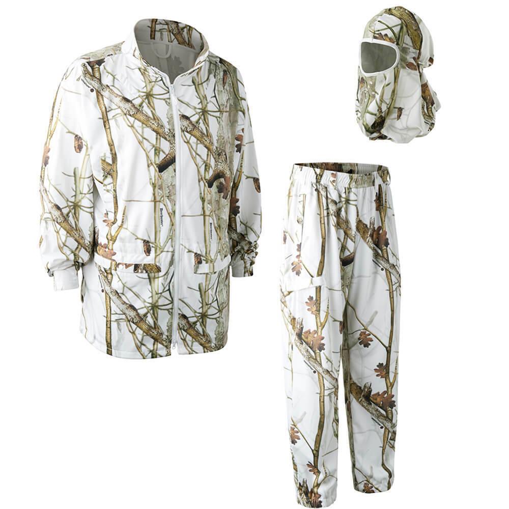 Deerhunter Snow Camouflage Suit-Water Repellent-Hunting in the Snow