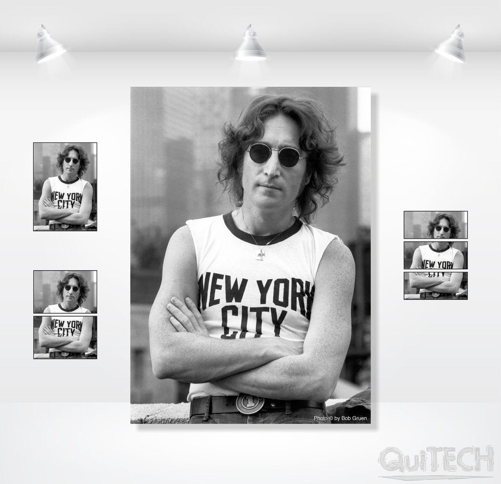 John Lennon - 15 - Quadro stampa su Tela Tela Tela Pelle Canvas Dipinto Arte Moderna 69e84b