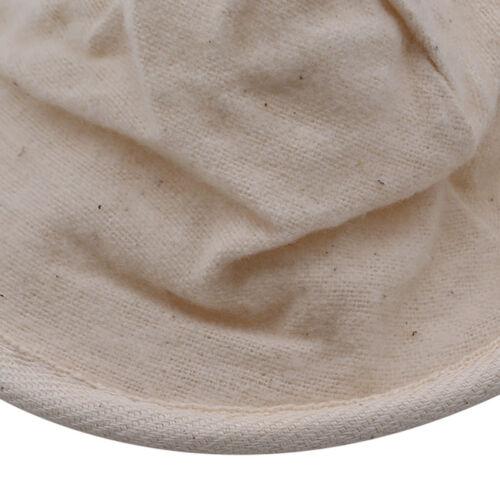 Small Traditional Tea Coffee Strainer Reusable Handle Filter Sock Cloth HA
