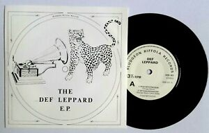 NEAR-MINT-DEF-LEPPARD-ROCKS-OFF-EP-RIDE-INTO-THE-SUN-MSB-001-7-034-VINYL-45-NM-EX