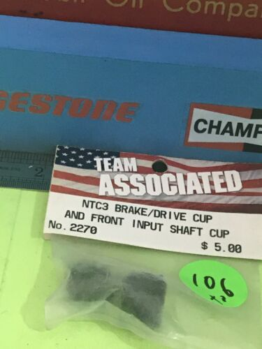 Team Associated 2270 NTC3 Brake//Drive Cup /& Front Input Shaft Cup