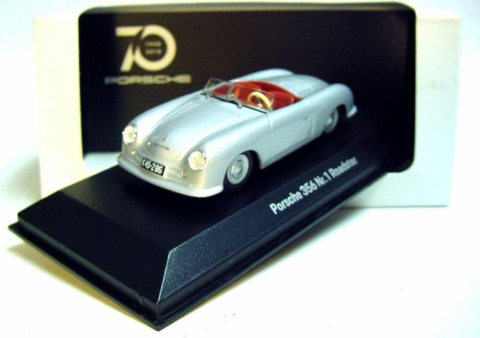muchas sorpresas 1 43 Minichamps 1948 Porsche Porsche Porsche 356 No.1 plateado edición limitada de 70 años Porsche Museum Promo  compras de moda online