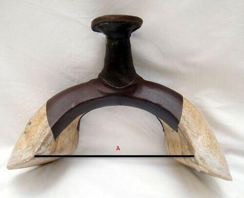 Vorderzwiesel für baumlose Western Sättel in 2 Größen Western Kopfeisen