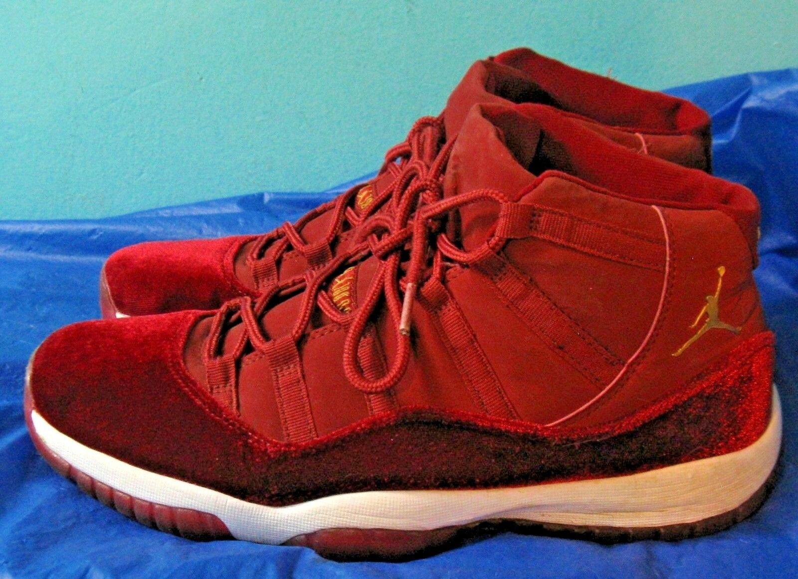 Nike Air Jordan 11 Heiress Retro XI Night Maroon 852625-650 (Sz 12)