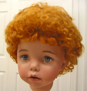 baby lauren mohair wig auburn 1314 short curly hair for