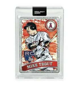 Topps-PROJECT-2020-Card-100-2011-Mike-Trout-by-Blake-Jamieson-Ben-Baller-Presale