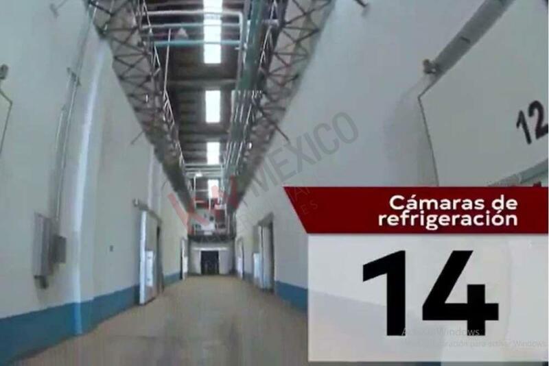 MAGNIFICO FRIGORIFICO CON GRAN CAPACIDAD PARA CENTRO DE ACOPIO