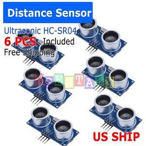 6X-Ultrasonic-Module-HC-SR04-Distance-Transducer-Sensor-For-Arduino-Robot