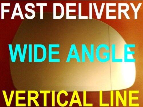 AUDI A3// S3  2008-2012  DOOR WING MIRROR GLASS vertical line