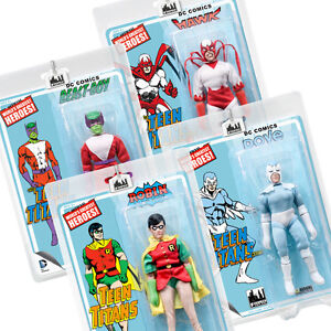DC-Comics-Teen-Titans-Series-2-Retro-Style-Action-Figures-Set-of-all-4