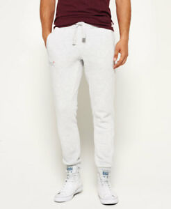 Image is loading New-Mens-Superdry-Orange-Label-Moody-Joggers-Ice-