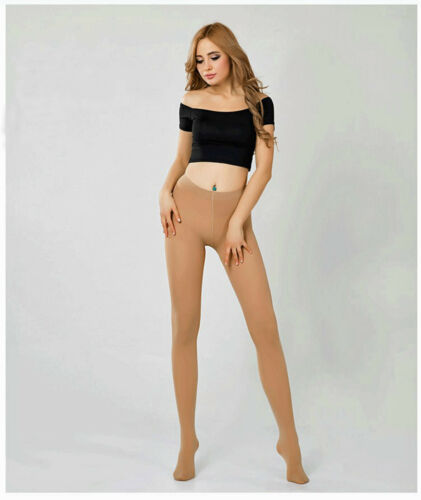 Luxury Full Foot Opaque Natural Dance Tights