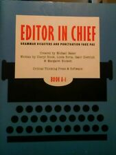 Editor in Chief® A1 No. C1 : Grammar Disasters and Punctuation Faux Pas by Linda