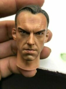 1//6 Scale Male Head Sculpture Sculpt for 12/'/' Action Figure   Hot Toys