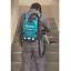 Makita batería-mochila aspiradora para 2x18v HEPA dvc261zx11 solo modelo
