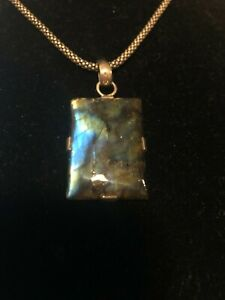 Gorgeous-Antique-Labradorite-wrapped-in-Sterling-Silver-on-sterling-silver-chain