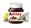 thumbnail 5 - CHRISTMAS Personalised fits Nut Chocolate Spread Jar LABEL Sticker Gift XMAS