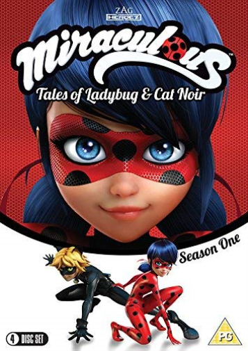 Miraculous Tales Of Ladybug & Cat Noir S DVD NEW